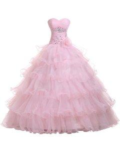 Sweetheart Organza Ball Gown