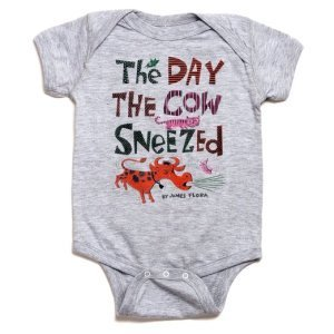 The Day the Cow Sneezed Onesie