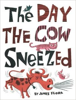 The Day the Cow Sneezed, Baby Books with Matching Onesies