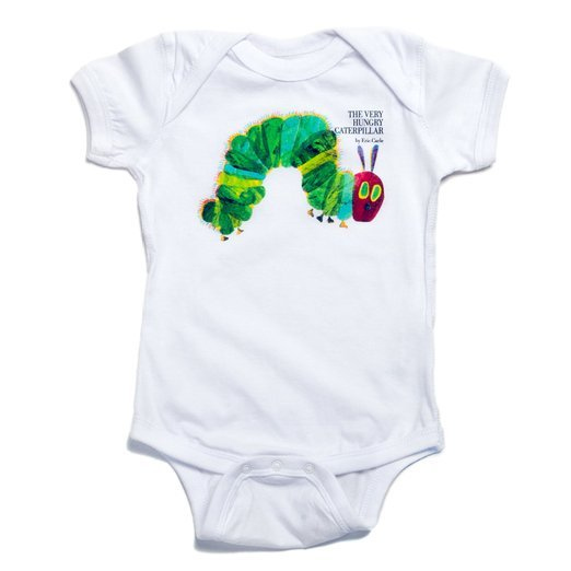 The Very Hungry Caterpillar Baby White Romper
