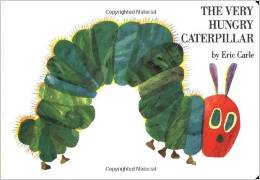 The Very Hungry Caterpillar, Baby Books with Matching Onesies