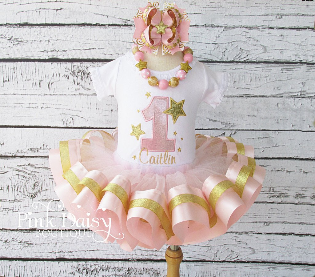 Twinkle Little Star Tutu Birthday Outfit