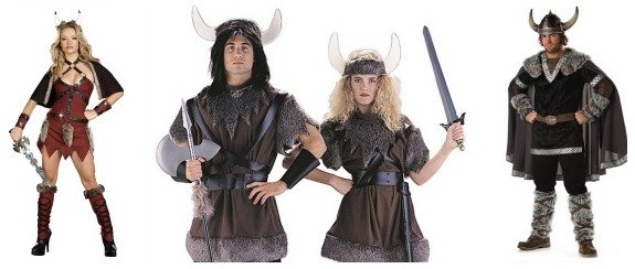 Vikings Couple Costumes