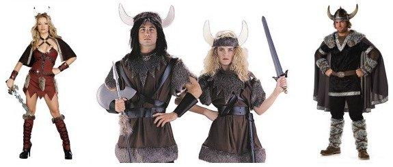 Vikings Couple Costumes