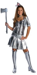 Wizard Of Oz Teen Tin Woman Costume