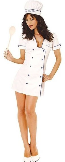 Womens Chef Adult Costume