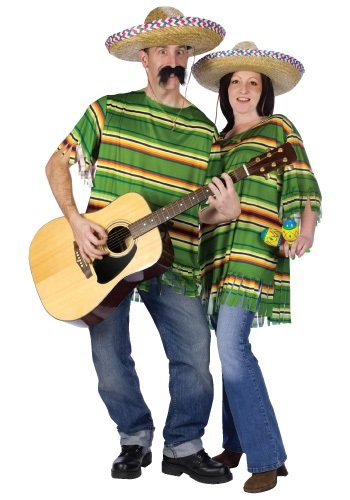 couples serape costume