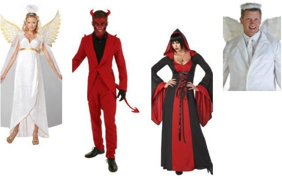 Devil & Angel Couples Costumes