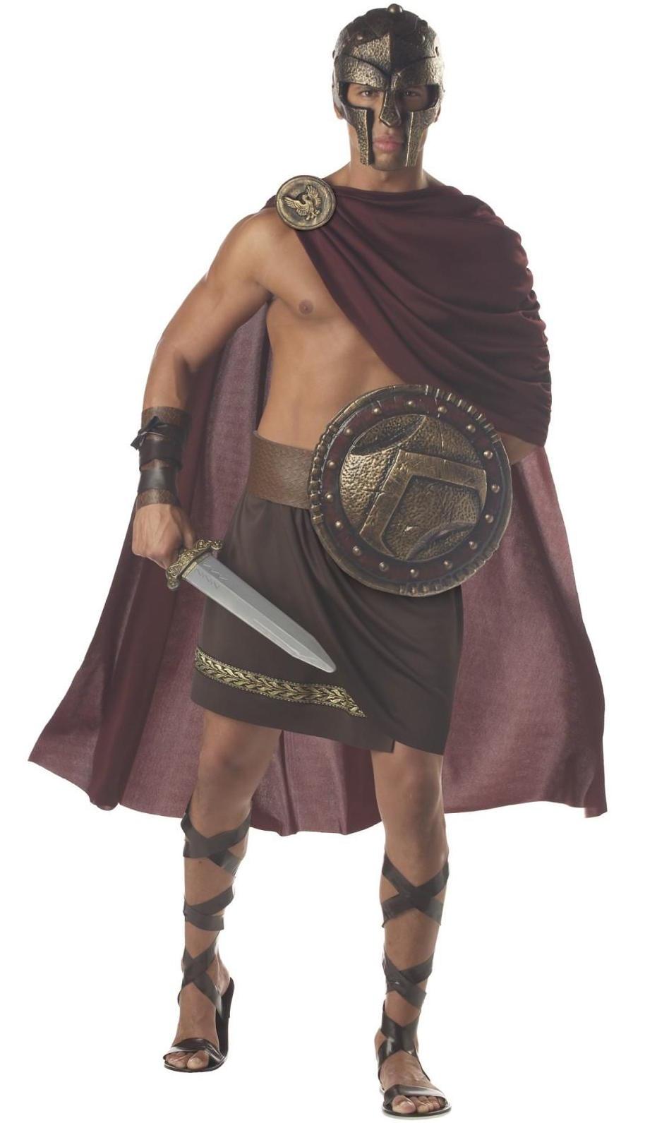spartan warrior costume