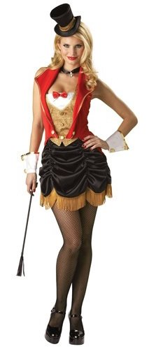 womens circus ring master costume