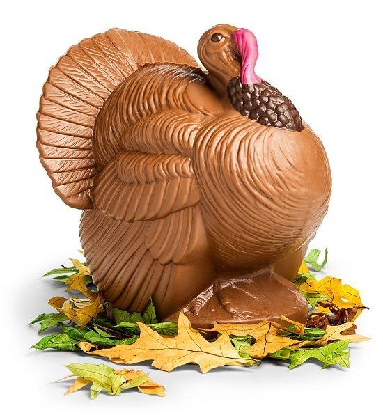 Bissingers Chocolate Turkey Centerpiece