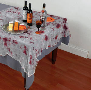 Bloody Gauze Panel Zombie Party Decor