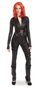 Captain America Black Widow Head-To-Toe Look