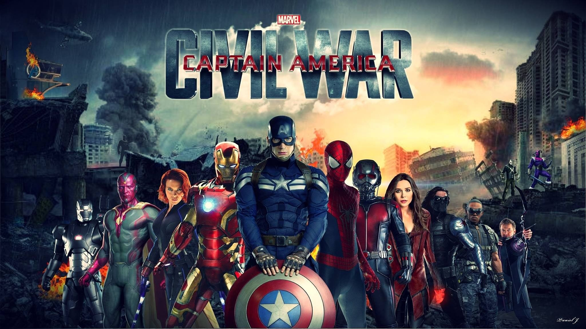 Captain America Civil War Movie Costumes