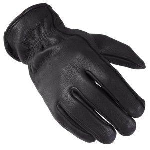 Captain America Nick Fury Costume | Black Leather Gloves