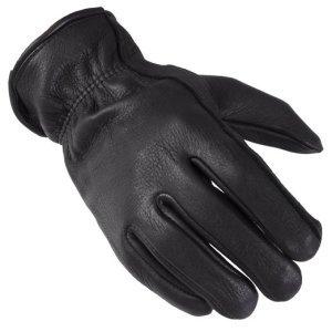 Captain America Nick Fury Costume | Black Leather Gloves