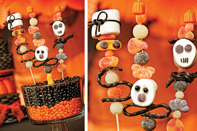 Halloween party ideas by celebrate express halloween for Easy halloween treats for work party