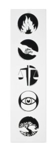 Divergent Movie Faction Symbols Temporary Tattoo Set