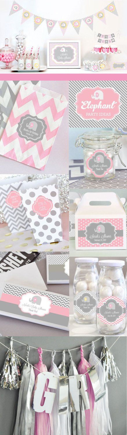 elephant themed party planning ideas supplies baby showers