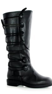Black Costume Renaissance Boot