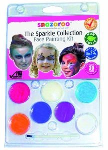 Face Paint Sparkle Collection Kit