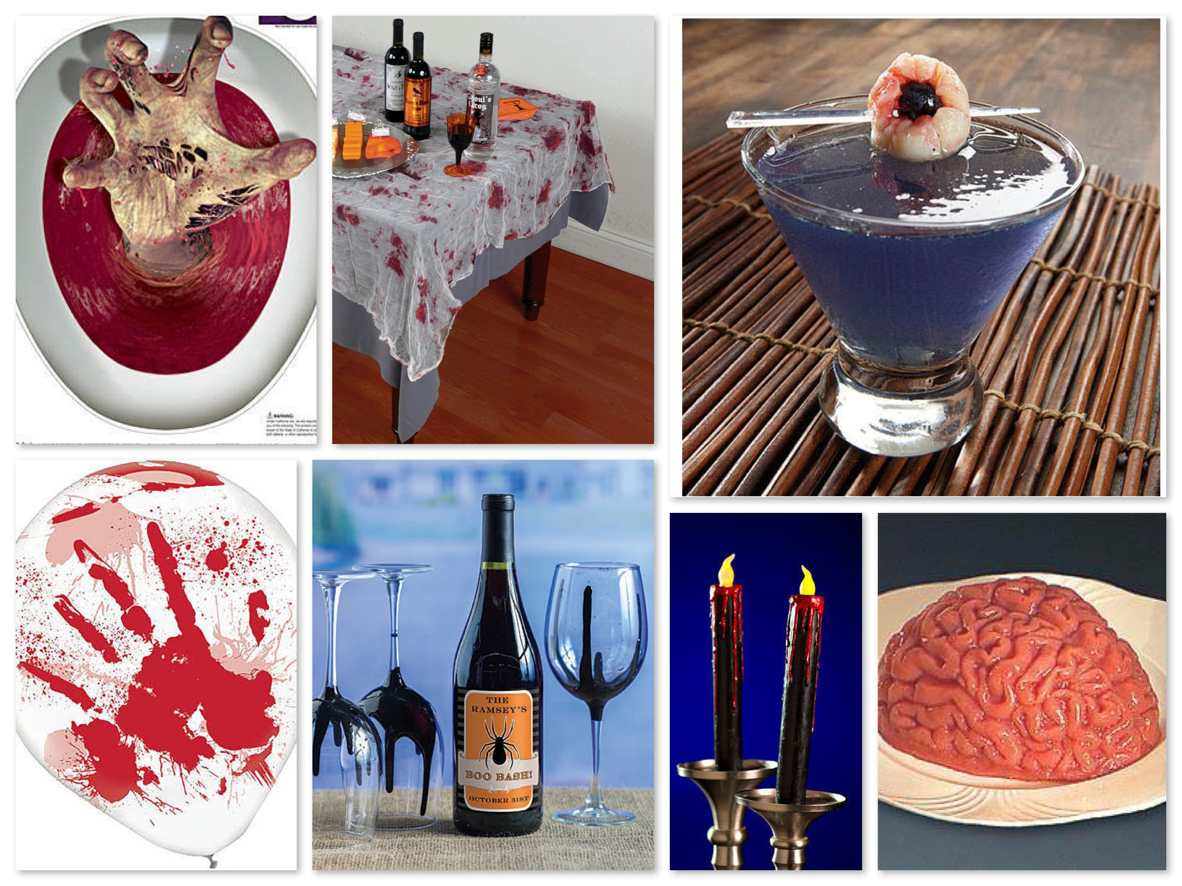 Festive Zombie Home Decor & Dinner Decoration Ideas
