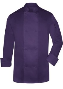 Grand Budapest Hotel Costume Purple Male Chef Jacket