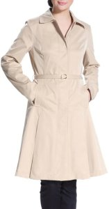 Grand Budapest Hotel Costume | Womens Tan Pleated Trench Coat