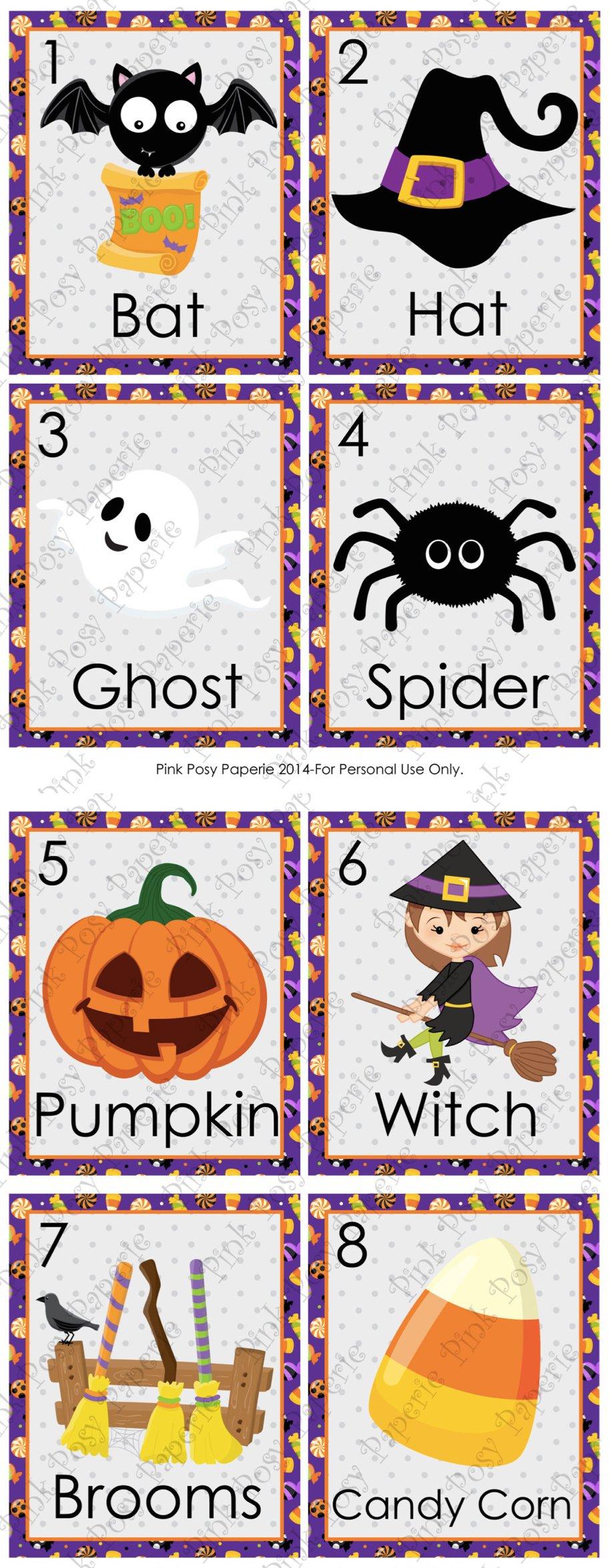 Printable Halloween Games | Halloween Party Activities ...