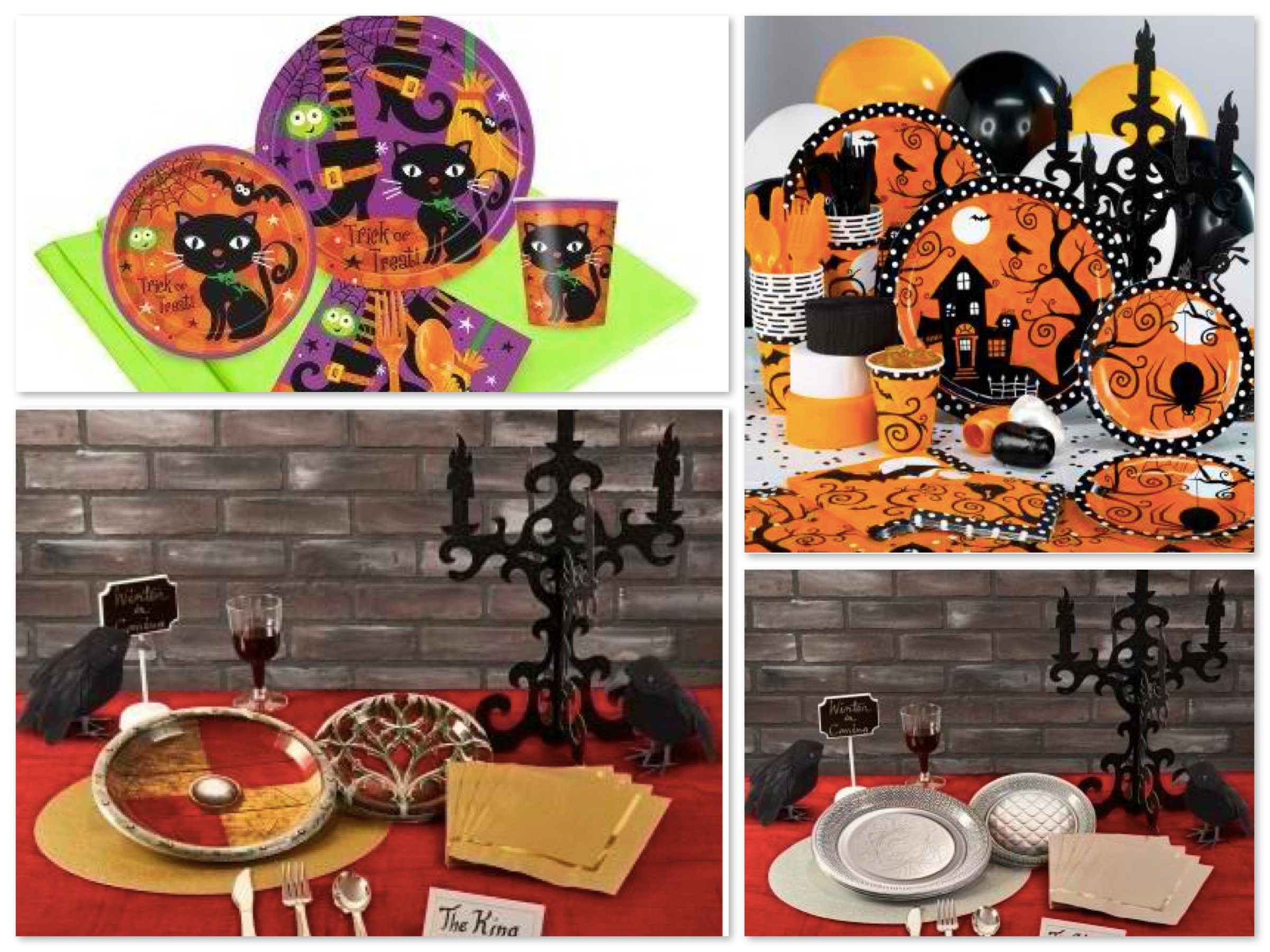 halloween party supplies in a box halloween party ideas by celebrate express - Halloween Party Supplies