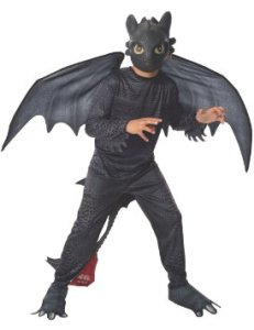 How to Train Your Dragon 2 Night Fury Costume