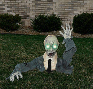 Lawn Zombie Halloween Party Decor