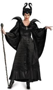 Maleficent Deluxe Christening Black Gown Adult Costume