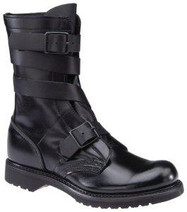 Men's Corcoran 10 Leather Tanker Boots Black