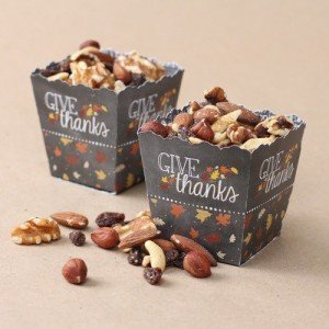 Personalized Thanksgiving Candy Box