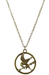 Single Chain Mockingjay Necklace