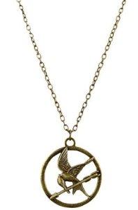 Single Chain Mockingjay Necklace