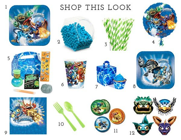 Skylanders Birthday Party Supplies