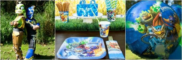 Skylanders Birthday Theme Party Ideas