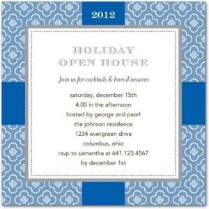 Style Wrapped - Holiday Party Invitations
