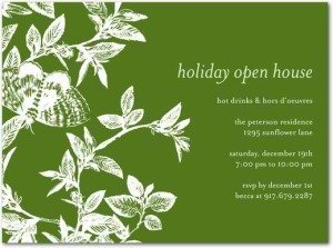 Stylish Sophistication - Holiday Party Invitations