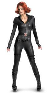 The Avengers Black Widow Elite Adult Costume
