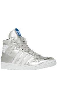 X-Men Quicksilver Costume | Adidas Men's Pro Conference Hi Running Shoes G96913, Metallic Silver:White