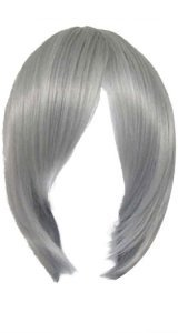 X-Men Quicksilver Costume | Grey Short Straight Wig