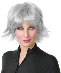 X-Men Storm Costume | Silver Superhero Wig