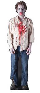 Zombie Guy Standee