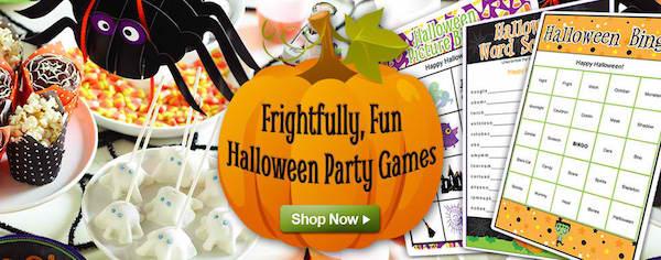 Fun Printable Halloween Games