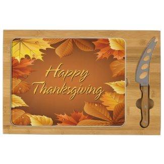 happy_thanksgiving_ rectangular_cheeseboard