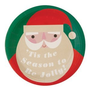 Be Jolly Santa Plate