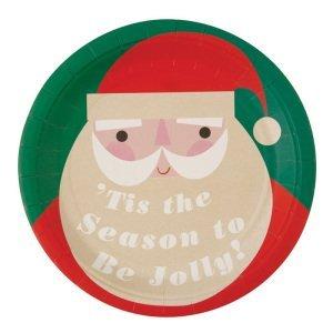 Be Jolly Santa Plate